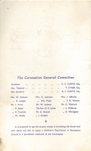 The organising committee