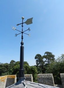 The Church weather vane