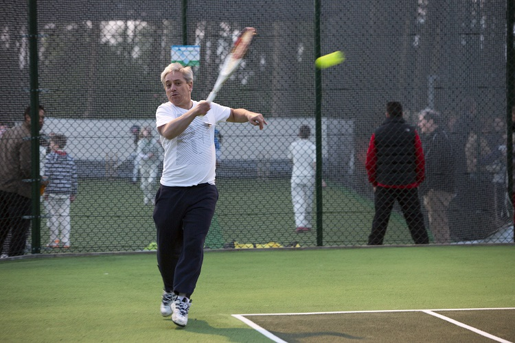 Andy Murray's got nothing on John