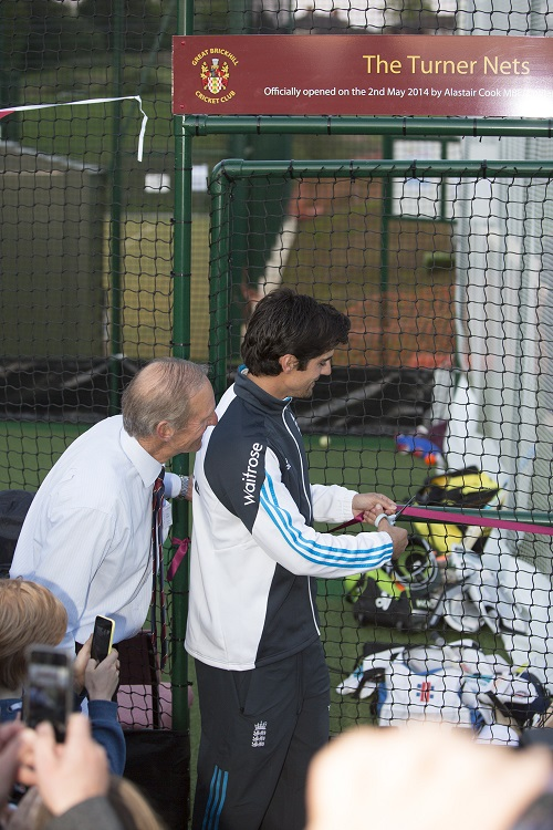The official opening of The Turner Nets
