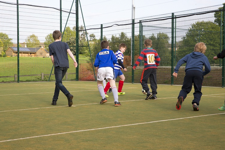 Trying out the new MUGA